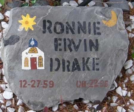 DRAKE, RONNIE ERVIN - Ottawa County, Oklahoma | RONNIE ERVIN DRAKE - Oklahoma Gravestone Photos