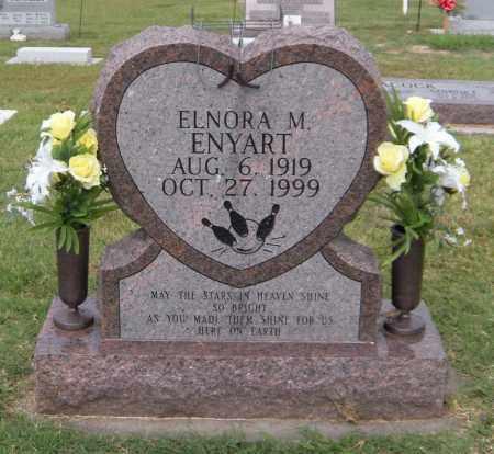 ENYART, ELNORA M - Ottawa County, Oklahoma | ELNORA M ENYART - Oklahoma Gravestone Photos