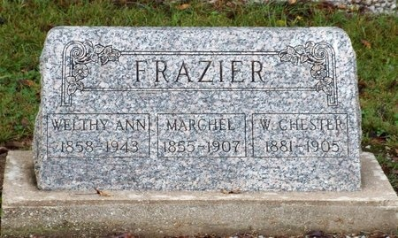 FRAZIER, MARCHEL - Ottawa County, Oklahoma | MARCHEL FRAZIER - Oklahoma Gravestone Photos