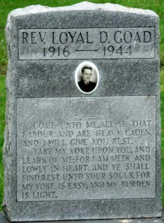 GOAD, REV LOYAL DELAINE - Ottawa County, Oklahoma | REV LOYAL DELAINE GOAD - Oklahoma Gravestone Photos