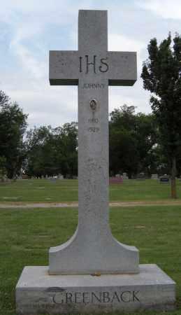 GREENBACK, JOHNNY - Ottawa County, Oklahoma | JOHNNY GREENBACK - Oklahoma Gravestone Photos