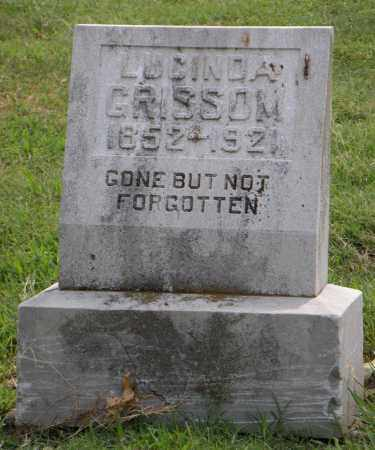 GRISSOM, LUCINDA - Ottawa County, Oklahoma | LUCINDA GRISSOM - Oklahoma Gravestone Photos