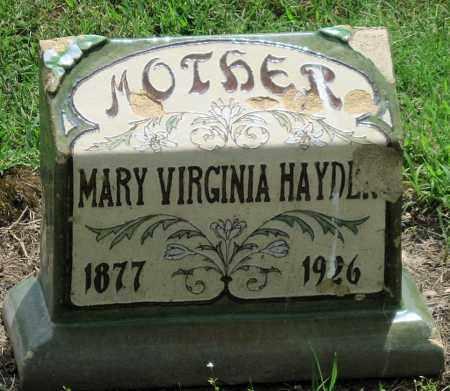 MURPHY HAYDEN, MARY VIRGINIA - Ottawa County, Oklahoma   MARY VIRGINIA MURPHY HAYDEN - Oklahoma Gravestone Photos