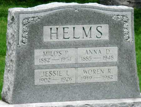HELMS, WOREN R - Ottawa County, Oklahoma | WOREN R HELMS - Oklahoma Gravestone Photos