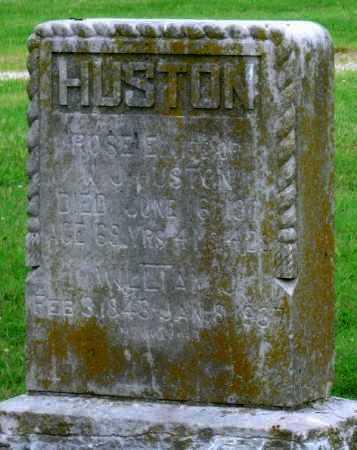 HUSTON, WILLIAM J - Ottawa County, Oklahoma | WILLIAM J HUSTON - Oklahoma Gravestone Photos
