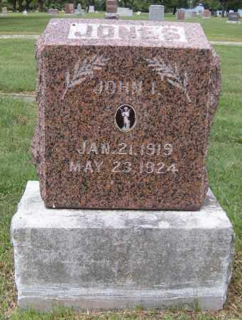JONES, JOHN I - Ottawa County, Oklahoma   JOHN I JONES - Oklahoma Gravestone Photos