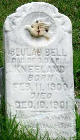 KNEELAND, BEULAH BELL - Ottawa County, Oklahoma | BEULAH BELL KNEELAND - Oklahoma Gravestone Photos