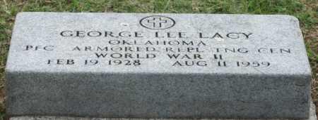 LACY (VETERAN WWII), GEORGE LEE - Ottawa County, Oklahoma | GEORGE LEE LACY (VETERAN WWII) - Oklahoma Gravestone Photos