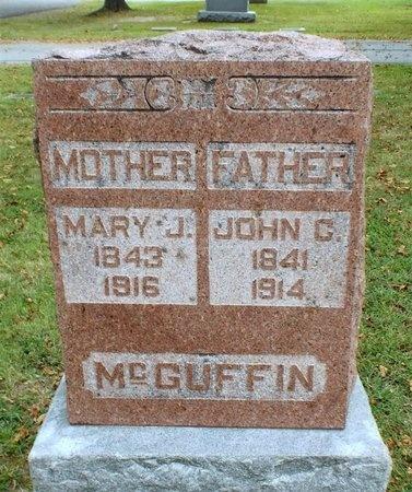 MCILWAIN MCGUFFIN, MARY JANE - Ottawa County, Oklahoma | MARY JANE MCILWAIN MCGUFFIN - Oklahoma Gravestone Photos