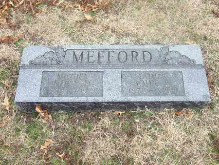 MEFFORD, JOHN - Ottawa County, Oklahoma   JOHN MEFFORD - Oklahoma Gravestone Photos