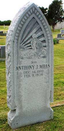 MILLS, ANTHONY J - Ottawa County, Oklahoma | ANTHONY J MILLS - Oklahoma Gravestone Photos