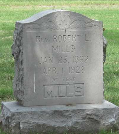 MILLS, REV ROBERT L - Ottawa County, Oklahoma | REV ROBERT L MILLS - Oklahoma Gravestone Photos