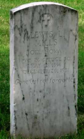 MILLS (VETERAN WWI), LEWIS L - Ottawa County, Oklahoma | LEWIS L MILLS (VETERAN WWI) - Oklahoma Gravestone Photos