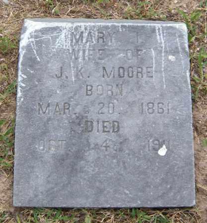 MOORE, MARY I - Ottawa County, Oklahoma | MARY I MOORE - Oklahoma Gravestone Photos