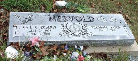 ROBERTS NESVOLD, GAIL G - Ottawa County, Oklahoma | GAIL G ROBERTS NESVOLD - Oklahoma Gravestone Photos