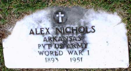 NICHOLS (VETERAN WWI), ALEX - Ottawa County, Oklahoma | ALEX NICHOLS (VETERAN WWI) - Oklahoma Gravestone Photos