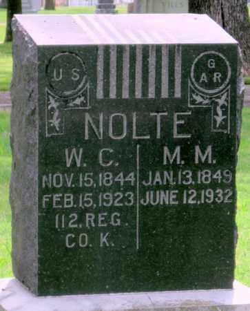 NOLTE, M M - Ottawa County, Oklahoma | M M NOLTE - Oklahoma Gravestone Photos