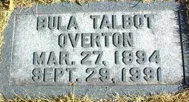 OVERTON, BULA - Ottawa County, Oklahoma | BULA OVERTON - Oklahoma Gravestone Photos