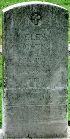 OWEN (VETERAN), GLEN - Ottawa County, Oklahoma   GLEN OWEN (VETERAN) - Oklahoma Gravestone Photos