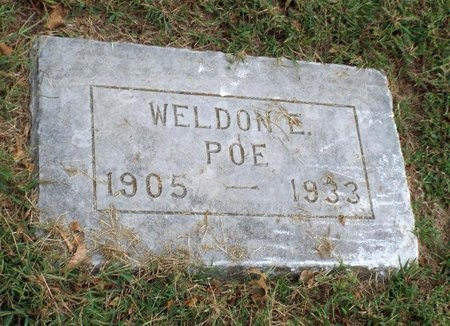 POE, WELDON E - Ottawa County, Oklahoma | WELDON E POE - Oklahoma Gravestone Photos