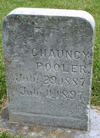 POOLER, CHAUNCY - Ottawa County, Oklahoma | CHAUNCY POOLER - Oklahoma Gravestone Photos