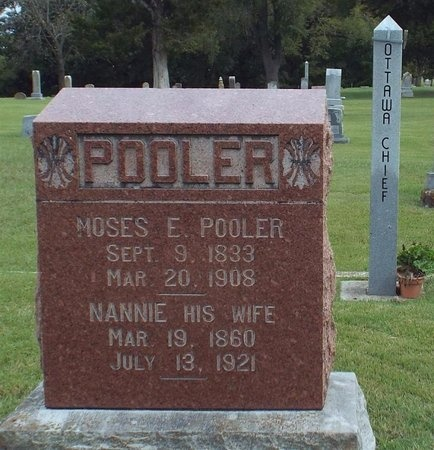 "POOLER, NANCY ""NANNIE"" - Ottawa County, Oklahoma 