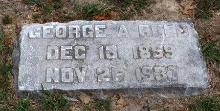 REED, GEORGE A - Ottawa County, Oklahoma | GEORGE A REED - Oklahoma Gravestone Photos