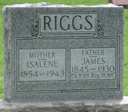 RIGGS, ISALINE - Ottawa County, Oklahoma | ISALINE RIGGS - Oklahoma Gravestone Photos