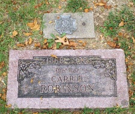 ROBINSON, CARRIE - Ottawa County, Oklahoma | CARRIE ROBINSON - Oklahoma Gravestone Photos