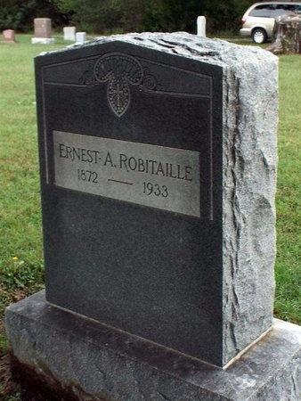 ROBITAILLE, ERNEST, ESQ - Ottawa County, Oklahoma | ERNEST, ESQ ROBITAILLE - Oklahoma Gravestone Photos
