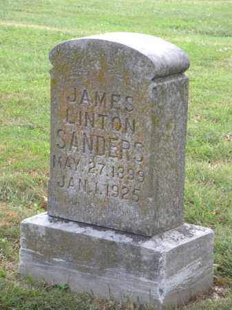 SANDERS, JAMES LINTON - Ottawa County, Oklahoma   JAMES LINTON SANDERS - Oklahoma Gravestone Photos
