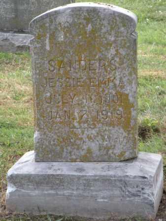 SANDERS, JESSIE EMMA - Ottawa County, Oklahoma   JESSIE EMMA SANDERS - Oklahoma Gravestone Photos