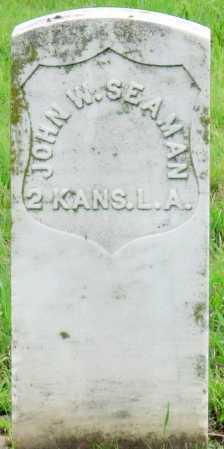 SEAMAN (VETERAN UNION), JOHN W - Ottawa County, Oklahoma | JOHN W SEAMAN (VETERAN UNION) - Oklahoma Gravestone Photos