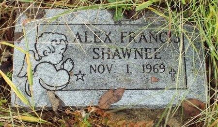 SHAWNEE, ALEX FRANCIS - Ottawa County, Oklahoma   ALEX FRANCIS SHAWNEE - Oklahoma Gravestone Photos
