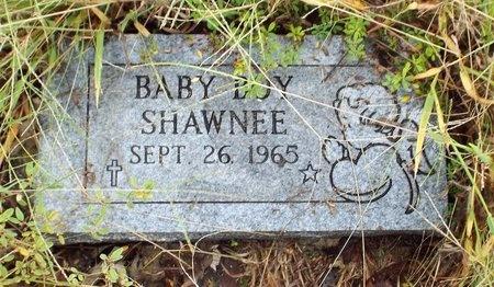SHAWNEE, INFANT SON - Ottawa County, Oklahoma   INFANT SON SHAWNEE - Oklahoma Gravestone Photos