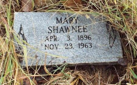 SHAWNEE, MARY M - Ottawa County, Oklahoma   MARY M SHAWNEE - Oklahoma Gravestone Photos