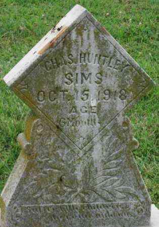 SIMS, CHARLES HUNTLEY - Ottawa County, Oklahoma | CHARLES HUNTLEY SIMS - Oklahoma Gravestone Photos