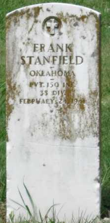 STANFIELD (VETERAN WWI), FRANK - Ottawa County, Oklahoma | FRANK STANFIELD (VETERAN WWI) - Oklahoma Gravestone Photos