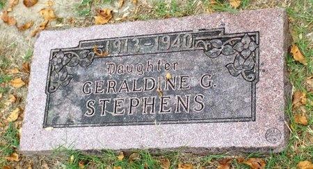 STEPHENS, GERALDINE G - Ottawa County, Oklahoma   GERALDINE G STEPHENS - Oklahoma Gravestone Photos