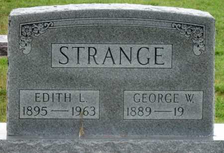 STRANGE, GEORGE W - Ottawa County, Oklahoma | GEORGE W STRANGE - Oklahoma Gravestone Photos