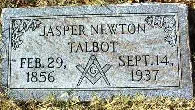 TALBOT, JASPER NEWTON - Ottawa County, Oklahoma | JASPER NEWTON TALBOT - Oklahoma Gravestone Photos
