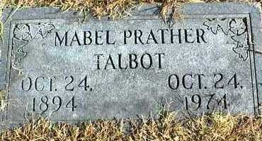 TALBOT, MABEL - Ottawa County, Oklahoma | MABEL TALBOT - Oklahoma Gravestone Photos