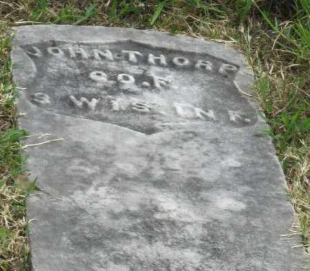 THORP (VETERAN UNION), JOHN W - Ottawa County, Oklahoma   JOHN W THORP (VETERAN UNION) - Oklahoma Gravestone Photos
