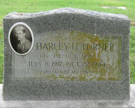 TURNER (VETERAN WWI), HARLEY H - Ottawa County, Oklahoma | HARLEY H TURNER (VETERAN WWI) - Oklahoma Gravestone Photos