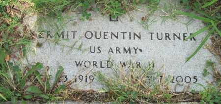 TURNER (VETERAN WWII), KERMIT QUENTIN - Ottawa County, Oklahoma | KERMIT QUENTIN TURNER (VETERAN WWII) - Oklahoma Gravestone Photos