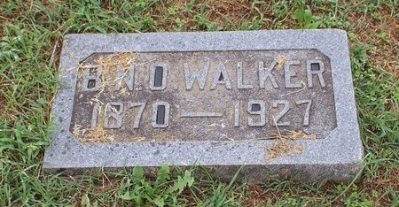 "WALKER, BERTRAND NICHOLAS OLIVER ""HEN-TOH"" - Ottawa County, Oklahoma   BERTRAND NICHOLAS OLIVER ""HEN-TOH"" WALKER - Oklahoma Gravestone Photos"