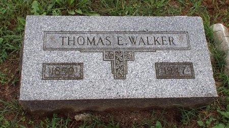 WALKER, THOMAS EARL - Ottawa County, Oklahoma | THOMAS EARL WALKER - Oklahoma Gravestone Photos