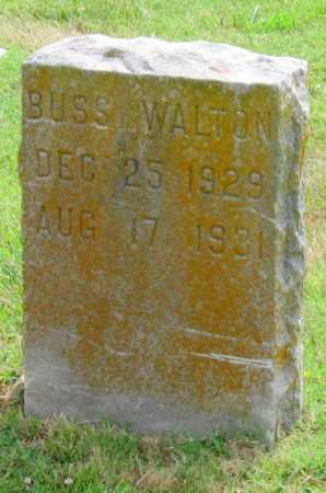WALTON, BUSS - Ottawa County, Oklahoma | BUSS WALTON - Oklahoma Gravestone Photos