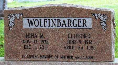 WOLFINBARGER, NINA MAE - Ottawa County, Oklahoma | NINA MAE WOLFINBARGER - Oklahoma Gravestone Photos