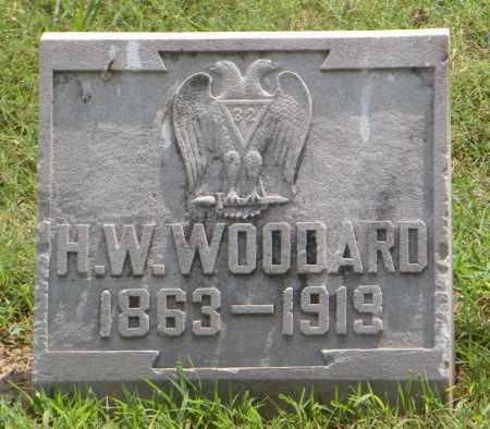WOODARD, H W - Ottawa County, Oklahoma | H W WOODARD - Oklahoma Gravestone Photos